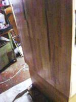 Foto 2 Großes 200er-Buche-Holzterrarium, incl. stabilem Untertisch