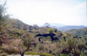 Grosses Grundstück auf Skyros/Griechenland