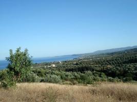 Grosses Grundstück nahe Petalidi/Griechenland