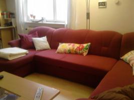 Foto 3 Großes neuwertiges Sofa mit Schlaffunktion, U-förmig