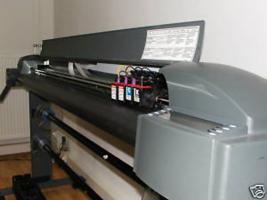 Großformatdrucker Encad Novajet 700 150cm inkl. verbrauchsmaterial