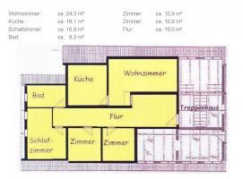 Foto 2 Großzügige Wohnung in einem ruhigen Mehrfamilienhaus im Grünen