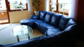 Foto 2 Großzügiges, superbequemes, hochwertiges Sofa!!! Echt Leder--> unempfindlich!!!