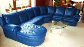 Foto 3 Großzügiges, superbequemes, hochwertiges Sofa!!! Echt Leder--> unempfindlich!!!