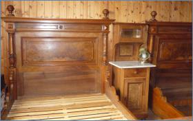 Gründerzeit Betten (Ehebett)