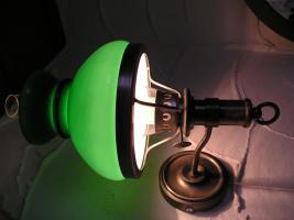 Foto 2 Grüne Wandleuchte