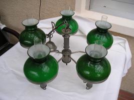 Grüne große Hängeleuchte