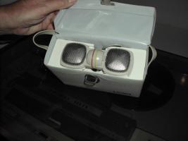 Foto 11 Grundig Tonband TK 341 hifi aus dem Jahr ca. 1965 mit Mikrofon