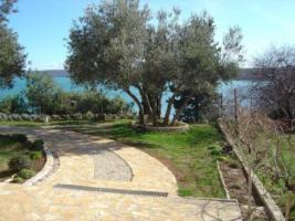 Foto 3 Gruppenhaus in Posedarje in Dalmatien direkt am Meer bestehend aus 5 Ferienwohnungen