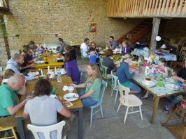 Foto 3 Gruppenhaus u. Gruppenunterkunft Burgund, Frankreich für 25 bis 45 Personen