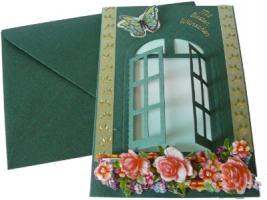 Grusskarten und Kerzen für Hochzeit, Geburtstag, Valentinstag