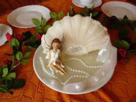 Foto 3 Grusskarten und Kerzen für Hochzeit, Geburtstag, Valentinstag
