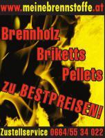 Günstig heizen! Brennholz - Briketts - Pellets - Steiermark, Wien, Niederösterreich, Burgenland