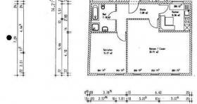 Günstige 2 Zimmer Wohnung mit Einbauküche und großem Bad zu vermieten