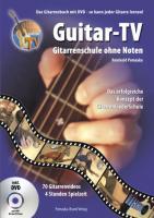 Guitar-TV- Gitarrenschule ohne Noten (Buch & DVD)