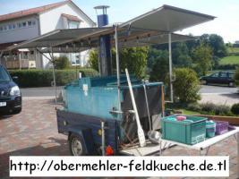 Gulaschkanone für Polterabend, Richtfest, Party, Motorradtreffen, e.t.c.