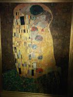 Foto 4 Gustaf Klimt Der Kuss 90x120cm ein Ölgemälde