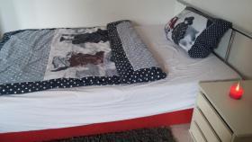 Gut erhaltenes Bett mit Bettkasten, Preis VB!