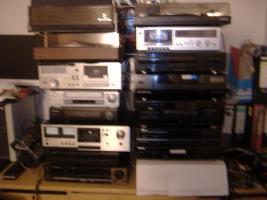 Guterhaltene Audio-u.Videogeräte günstig abzugeben