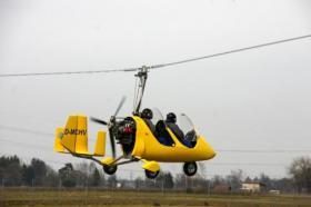 Gyrocopter Rundfl�ge - Agentur Spezial GmbH