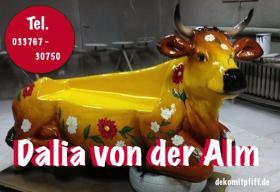 Foto 20 HALLO Mühlhausen - HALLO THÜRINGEN  - Deko Kuh lebensgross / unseres hauseigenes Modell - Liesel von der Alm oder unseres hauseigenes Holstein - Friesian Deko Kuh lebensgross - Modell oder ... www.dekomitpfiff.de / Tel. 033767 - 30750