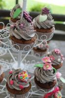 Foto 8 HAUSGEMACHT: Cupcakes in tausendundeins Variationen...einfach köstlich !... und auch optisch ein Genuß !