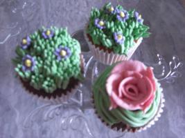 Foto 18 HAUSGEMACHT: Cupcakes in tausendundeins Variationen...einfach köstlich !... und auch optisch ein Genuß !