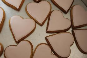 Foto 3 HAUSGEMACHT: Wedding-Cookies oder eßbare Tischkärtchen und Tischdekoration