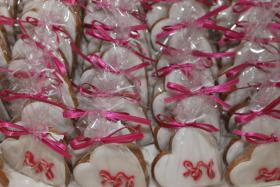 Foto 9 HAUSGEMACHT: Wedding-Cookies oder eßbare Tischkärtchen und Tischdekoration