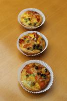 Mini - Gemüse - Quiche Zucchini + Karotte