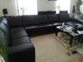 HAUSHALTSAUFLÖSUNG! Ab sofort! Hochwertige Möbel! z. B. bequeme & neuwertige Voll-Leder-Couch