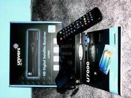 HD Digitel Satellite Reciver U7000 von univers by FTE