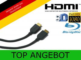 HDMI Kabel 1.4 Highend 3D FULL HD TV LCD PS3 Xbox360 HDTV 2m