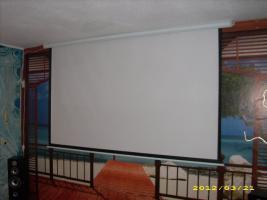 HDTV MOTORLEINWAND NUR 20 STD IN BETRIEB