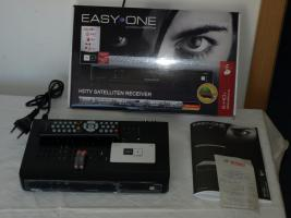 HDTV Sat Receiver, Easy One mit Karte+HD