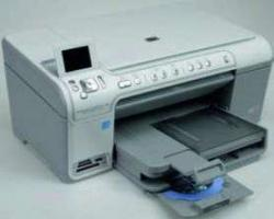 HP Drucker C5380 mit Display