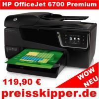 HP Netzwerkfähiger Multifunktions-Farbtintenstrahldrucker OfficeJet 6700 Premium e-All-in-One + WLAN