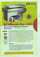 HP Officejet 1150C