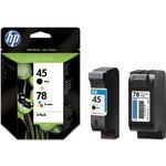 HP-Patronen HP 45 & HP 78 Value Pack