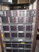 HP servers and MSA60 are for sale