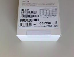 Foto 3 HTC HD7 Black Original NEU & OVP ohne Simlock UNGEÖFFNET Garantie