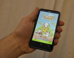 Beispiel: Ein Spiel auf dem HTC HD7