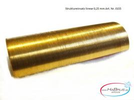 Habrus skitools Einsatz Strukturriller 0,25 mm Art.Nr. 0155