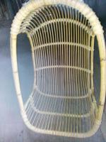 Foto 2 > Hängesessel Hängekorb Hängeschaukel aus Rattan <>gebraucht <