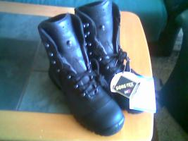 Haix Airpower X21 High - Herrenstiefel, Gr.44, schwarz (neu)