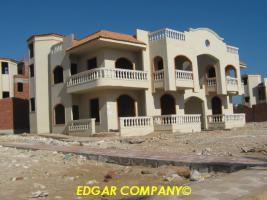 Halbe Rohbau Villen in Hurghada