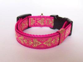 Foto 2 Halsband-Leinen-Set ''Pretty in Pink''