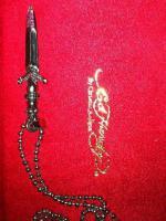 Halskette Ed Hardy  ''Das Schwert'' mit Strass
