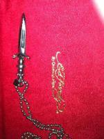 Foto 2 Halskette Ed Hardy  ''Das Schwert'' mit Strass
