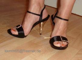 Hammer High Heels 12cm Pfennigabsatz